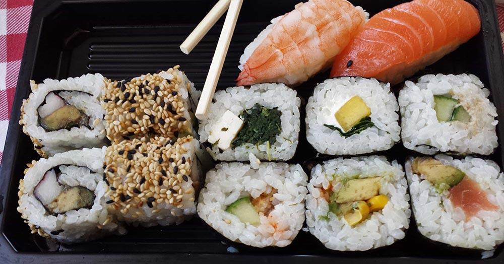 sushi japonais cuisine japonaise