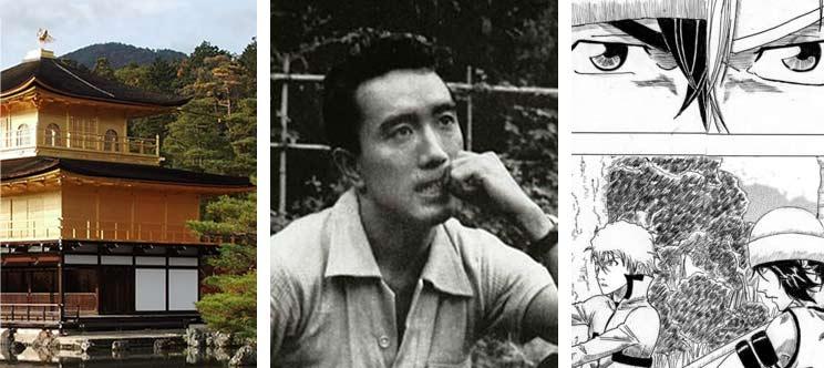 Le pavillon d'or Yukio Mishima et le manga