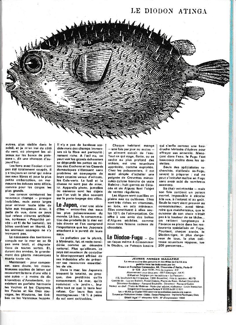 article Jeunes Années Magazine